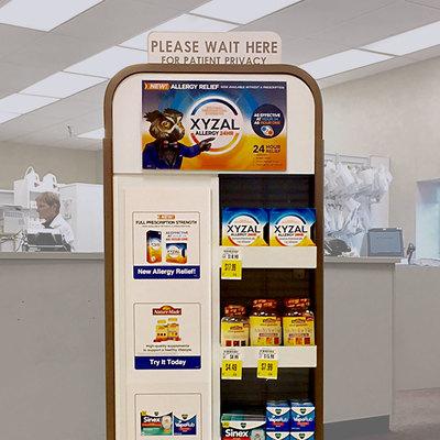 Pharmacy Display in Kroger