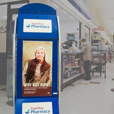 Ahold Prevnar Pharmacy Display