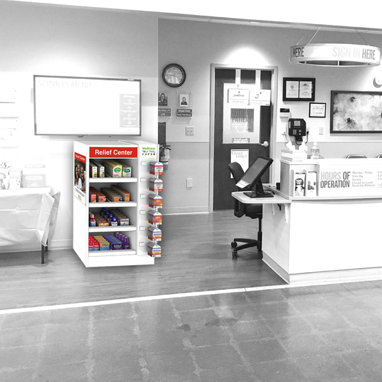 The Little Clinic Display