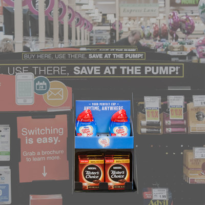 Coffee mate & Nescafe Checkout Display