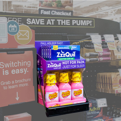 Zzquil & Pepto Checkout Display